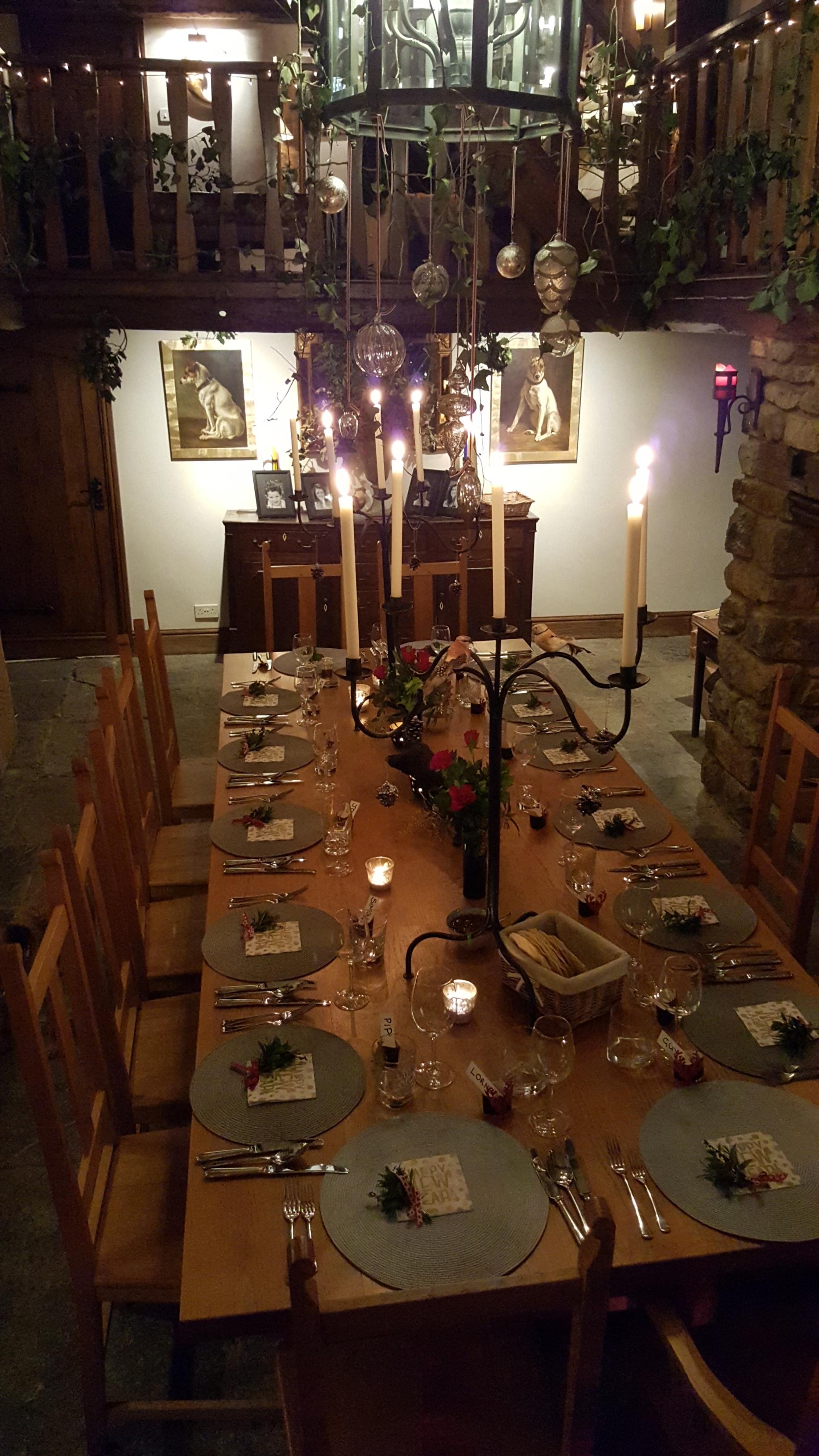 Dining Hall NYE 2019